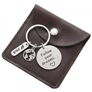 2019 Graduation Gifts Keychain - College High School Graduation Gift for Him Her now 45.0% off