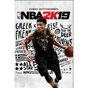 NBA 2K19 PS4 / Xbox One Digital Download @ Microsoft