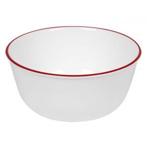 Corelle Red Band 28-Ounce Bowl @Amazon