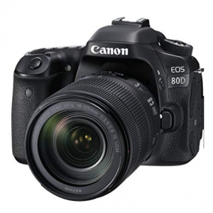 Canon Digital SLR Camera Body [EOS 80D] and EF-S 18-135mm f/3.5-5.6 Image USM Lens @ Amazon