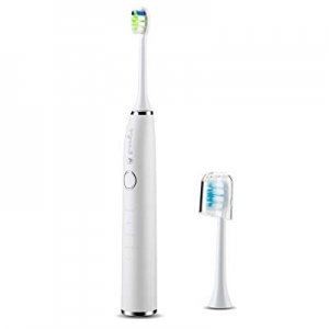 Sonic Electric Whitening Toothbrush, 5 Brushing Modes Diamond Clean Classic Rechargeable with Time..