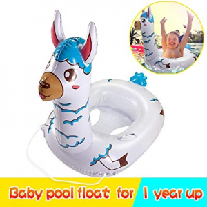 One Day Only!50.0% off TRSCIND Baby Pool Float Kid Swimming Floats with Safety Rope Inflatable Flo..