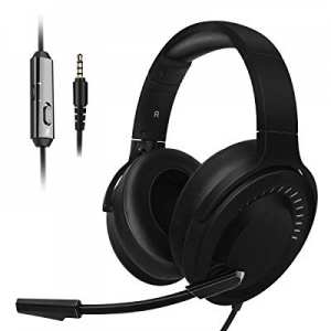 JINDUN PC Gaming Headset - 3.5mm Console Gaming Headset for PS4 now 50.0% off , and PC - Noise Can..
