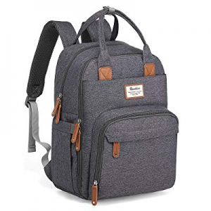 Diaper Bag Backpack now 15.0% off , RUVALINO Large Multifunction Travel Back Pack Maternity Baby N..