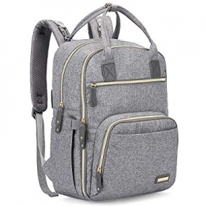 Diaper Bag Backpack now 20.0% off , iniuniu Large Unisex Baby Bags Multifunction Travel Back Pack ..