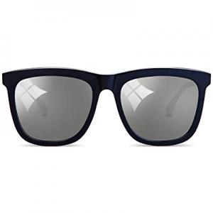 MUJOSH Fashion Cat Eye Sunglasses for Women Men now 15.0% off , Mirrored UV Protection Nylon Lens ..