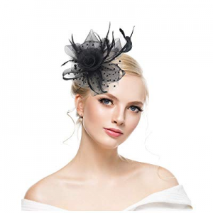 50.0% off KASTE Fascinators Hat for y Derby Wedding Women Tea Party Headband Kentuck Cocktail Flow..