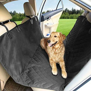 Arkmiido Waterproof Dog Back Seat Covers for Cars SUVs Trucks now 30.0% off , Washable Car Seat Pr..