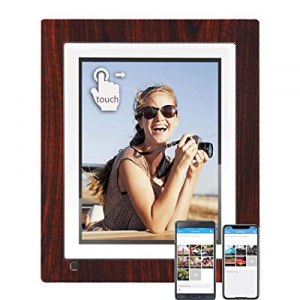 20.0% off BSIMB WiFi Cloud Digital Picture Frame Digital Photo Frame 9 Inch IPS Touch Screen 16GB ..