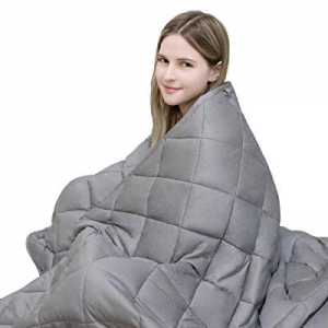 """10.0% off YOLIPULI Weighted Blanket 15lbs for Adults 