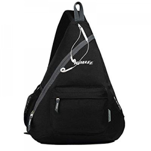 50.0% off Kimlee Sling Backpack Canvas Chest Bag Lightweight Crossbody Shoulder Bag for Travel Hik..