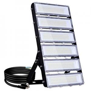 300W LED Flood Light Outdoor now 30.0% off , 27000lm 6000K Super Bright Yard Security Lights IP66 ..