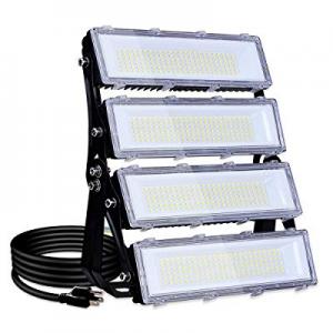 200W LED Flood Light Outdoor now 15.0% off , 18000lm 6000K Super Bright Yard Security Lights IP66 ..