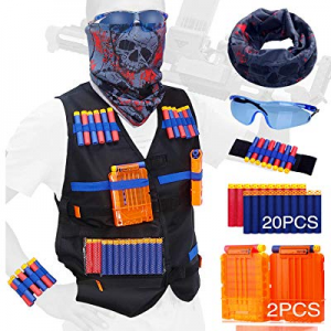 Kids Tactical Vest kit for Series Apply to the N-strike Christmas gifts for children now 50.0% off