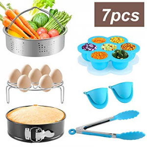 7-Piece Accessories Set Compatible with Instant Pot For 5 6 8Qt now 60.0% off ,Instant pot Pressur..