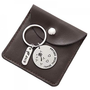 50.0% off 2019 Graduation Gift - Compass Keychain Go Confidently in The Direction of Your Dreams G..