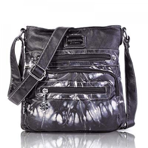 Angel Barcelo Crossover Purse and Handbags Crossbody Bags for Women now 19.0% off ,Ultra Soft Leat..