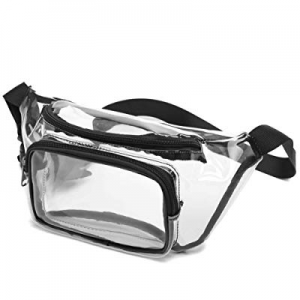 Clear Fanny Pack now 40.0% off , Ace Teah NFL Stadium Approved Fanny Pack for Women Transparent Pu..