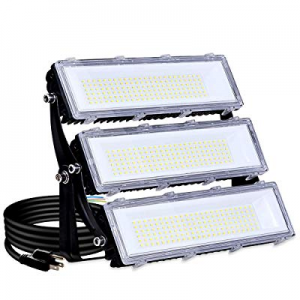 One Day Only!150W LED Flood Light Outdoor now 5.0% off , 14500lm 6000K Super Bright Yard Security ..