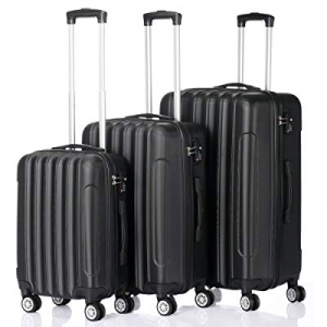 One Day Only!3-in-1 Multifunctional Large Capacity Traveling Storage Suitcase Black now 80.0% off