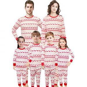 One Day Only!Christmas Family Matching Pajamas Set Santa's Deer Sleepwear for The Family Boys and ..