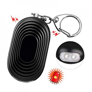 SYOSIN Personal Alarm now 70.0% off , 130db Safesound Safety Emergency Alarm with LED and Self Def..