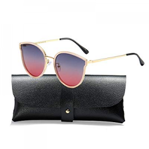 48.0% off Oversized Cat Eyes Sunglasses for Women Polarized Fashion Vintage Eyewear for Outdoor - ..