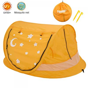 Large Baby Pop-Up Travel Tent now 20.0% off , Yoego Portable Baby Beach Tent, UPF 50+ Sun Shelters..