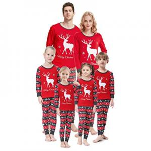 Christmas Family Matching Pajamas Set Santa's Deer Sleepwear for The Family Boys and Girls now 75...