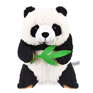 Yoego Cute Mimicry Pet Talking Panda Repeats What You Say Plush Animal Toy Electronic Panda Panda ..
