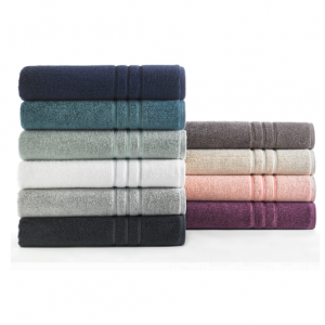 Hotel Style Egyptian Cotton Towel Collection @ Walmart