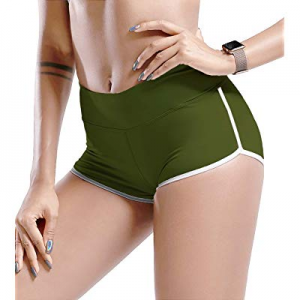 TYUIO Gym Shorts Women Yoga Workout Active Running Short Pant Dolphin Shorts now 45.0% off