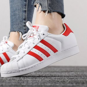 adidas WOMEN'S ORIGINALS SUPERSTAR SHOES