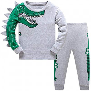 Schmoopy Boys Dinosaur Pajamas 2-8 Years now 20.0% off
