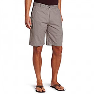 INCERUN Mens Summer Cotton Shorts Classic Flat Front Casual Work Chino Shorts now 40.0% off