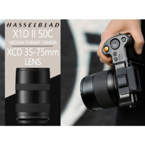 Hasselblad Reveals X1D II 50C Medium Format Camera and XCD 35-75mm Lens @ B&H