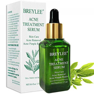 Acne Treatment Serum now 50.0% off , BREYLEE Tea Tree Clear Skin Serum for Clearing Severe Acne, B..