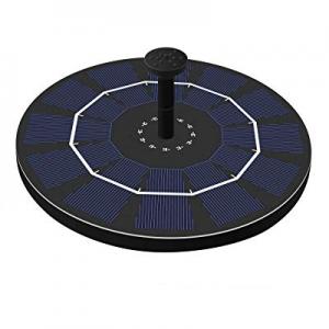 Cocofit Solar Powered Fountain Pump now 25.0% off , Solar Fountains for birdbaths, Garden, Pond, P..