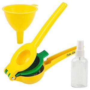 50.0% off Manual Lemon Squeezer - Premium Quality Lime Juicer - Aluminum Citrus Juicer with Cookin..