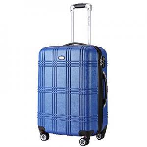 Travel Joy Expandable Luggage Carry on Suitcase TSA Lightweight Hardside Luggage Spinner Wheels Lu..