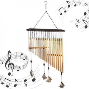 One Day Only!Angela&Alex Wind Chimes Outdoors now 50.0% off , Butterfly Wind Chimes Handmade Woode..