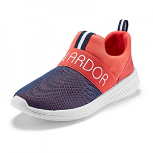 One Day Only!JENN ARDOR Women's Walking Casual Sneakers Lightweight Slip-On Breathable Mesh Outdoo..
