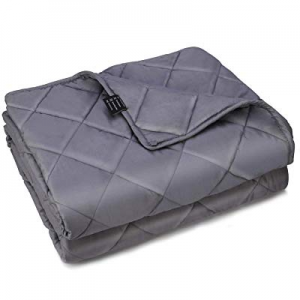 One Day Only!OXA Weighted Blanket (20lbs now 15.0% off , 60x80 inches, Queen Size), Heavy Blanket ..