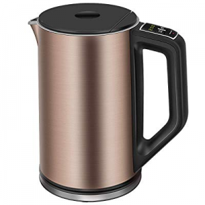 Electric Kettle now 60.0% off , CUSIBOX 1.5L Temperature Control Tea Kettle with Keep Warm Functio..