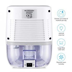 COSVII Small Dehumidifier for Home 500ML Water Tank now 25.0% off , Portable Home Dehumidifier(150..