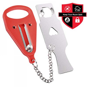Portable Door Lock now 20.0% off , Travel Lock, Add Extra Lock for Additional Safety, Security and..