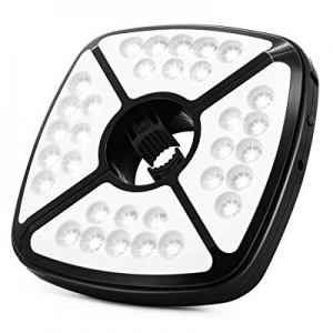 CREATIVE DESIGN Patio Umbrella Lights now 40.0% off , 32 LED Battery Operated Umbrella Lights 2 Mo..