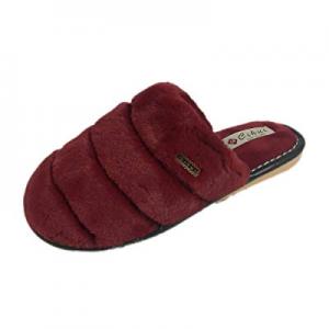 LINGMIN Unisex Plush Fur Lightweight Slip-on Super Comfort House Slippers now 30.0% off ,Cozy Nons..