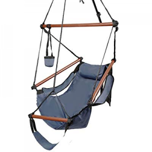 Tenozek Well-Equipped S-Shaped Hook High Strength Assembled Hanging Seat Cacolet Blue(TN08556436GT..
