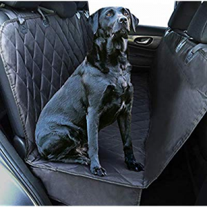 Plush Paws Ultra-Luxury Pet Seat Cover now 10.0% off , Dog Car Hammock Protector Bench Rear Waterp..